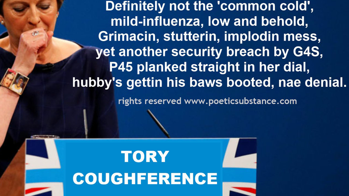 Tory Coughference